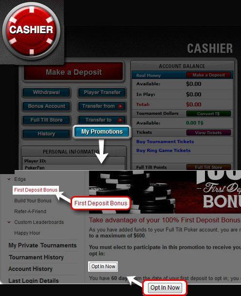 bonus pokerstars first deposit