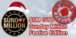 Special freerolls $5M Sunday Million for our players