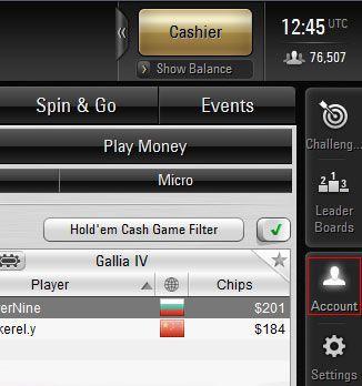 pokerstars how to change username