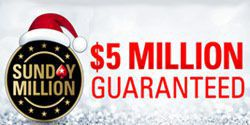 Special PokerStars Sunday Million tournament with $5.000.000 guaranteed