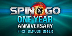 Spin-n-Go Anniversary: a special first deposit bonus