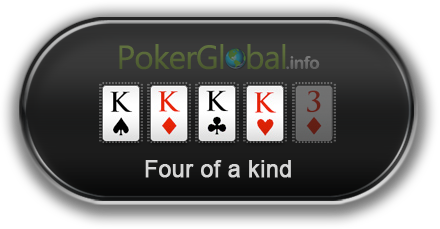 Poker Hand Rankings - Four of a Kind