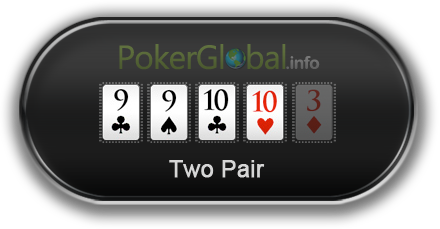 Poker Hand Rankings - Two Pair