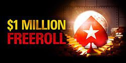$1 million freeroll on PokerStars will be held on July 17th