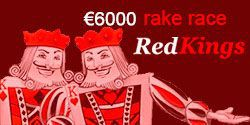 €6000 rake race at RedKings Poker
