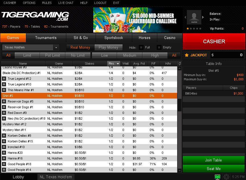 Tiger Gaming Download