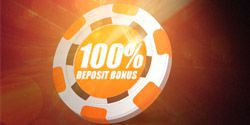 First deposit bonus of 100% up to $2500 from TigerGaming