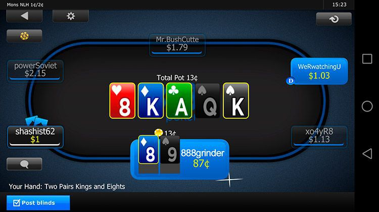 888 poker download android
