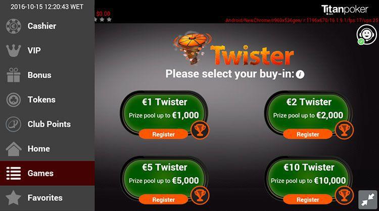 Titan poker android roulette 888 casino