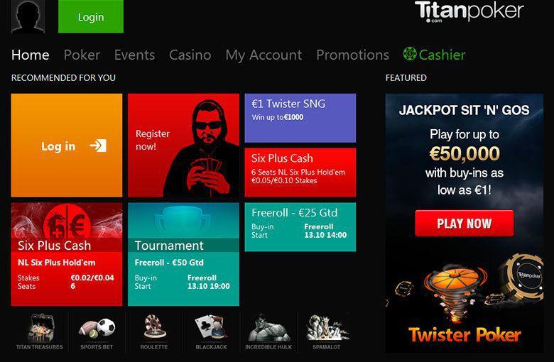 Titan Poker Download