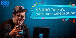 Special $5000 freeroll at 888 Poker