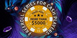 $5000 freeroll series for cash players