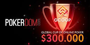 PokerDOM will host new GCOOP tournament series with $300.000 GTD prize pool