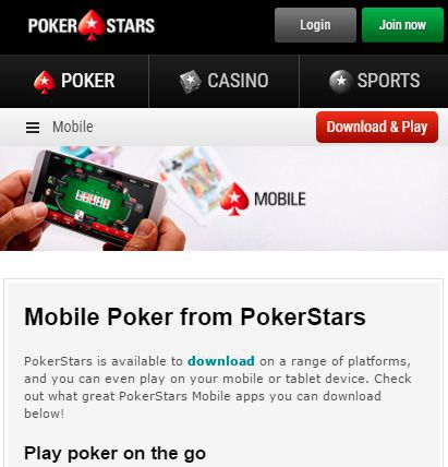 pokerstars eu download real money
