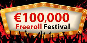 €100,000 Freeroll Festival at RedKings Poker