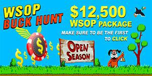 Win your WSOP Package with one click
