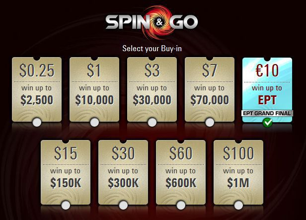 Spin & Go tournaments