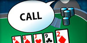 Why you should rarely call in poker