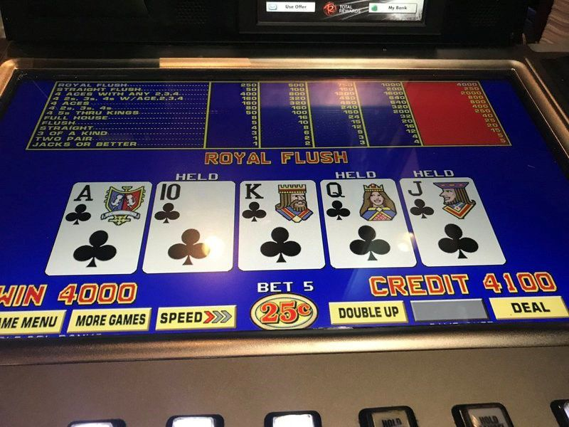 Royal flush winner!