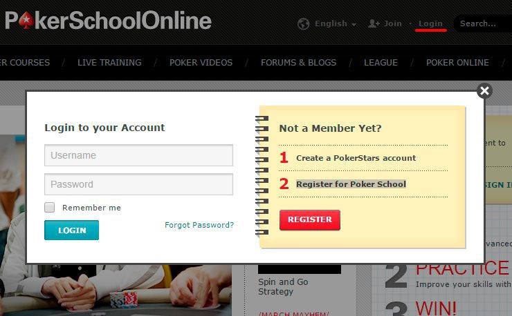 PokerSchoolOnline - free PokerStars poker school