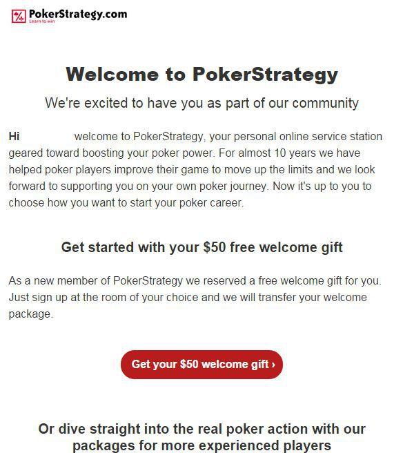 How to get PokerStrategy no deposit poker bonus