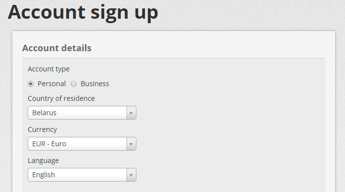 Skrill account registration - instruction on how to sign ...