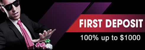 First deposit bonus at AmericasCardroom