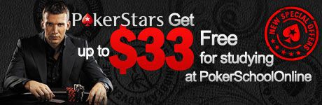 PokerStars - get up to $33 free
