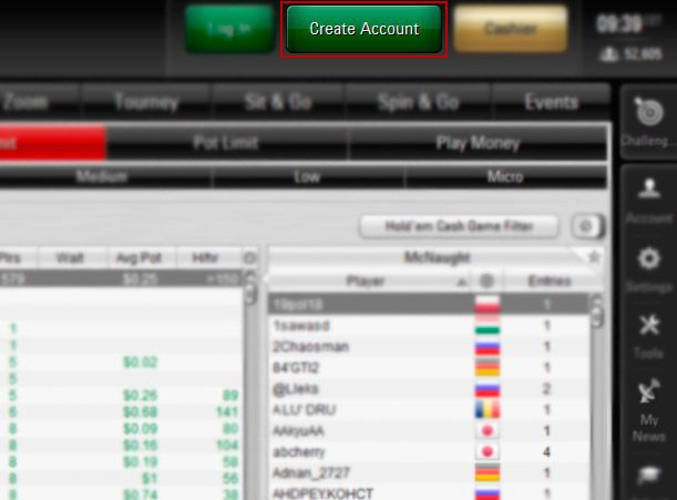 pokerstars eu login