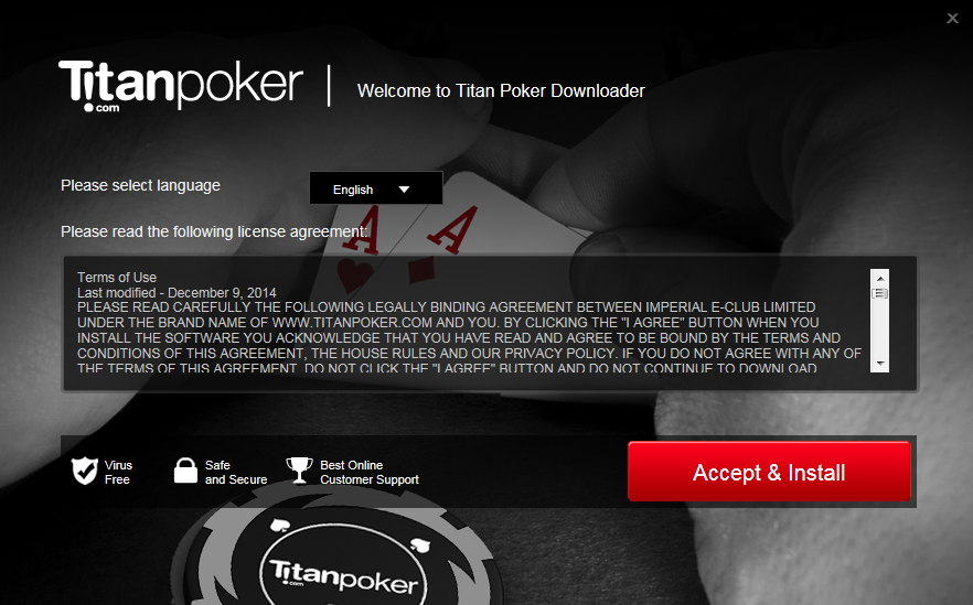 Titan poker registration bonus code