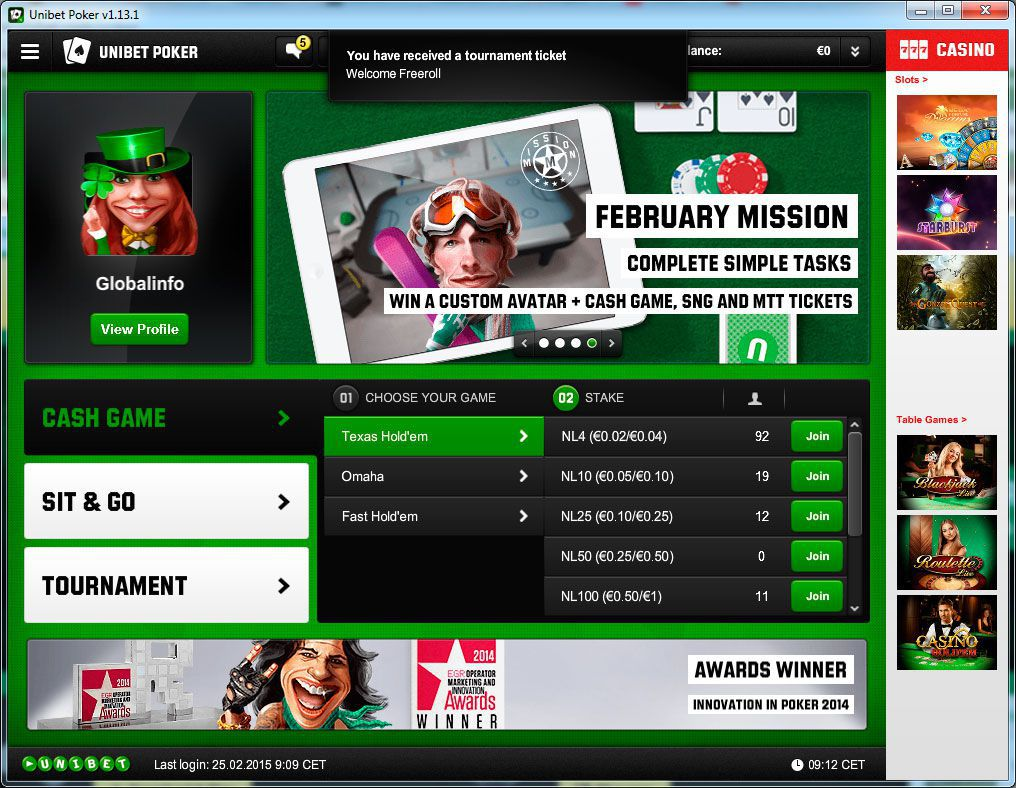Why should I join Unibet