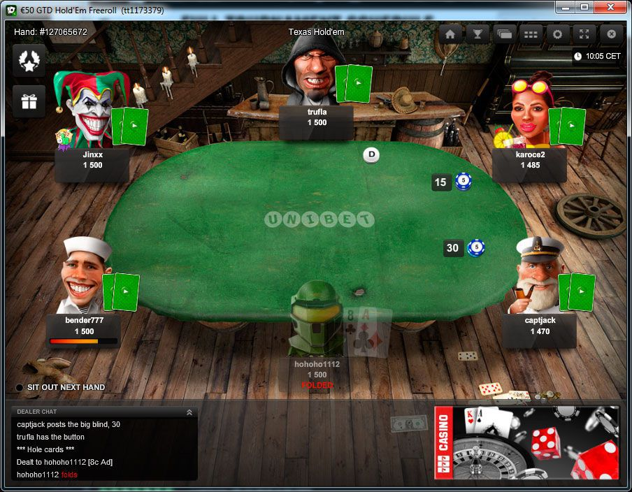 Play poker without registration