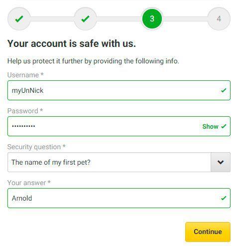 unibet poker password